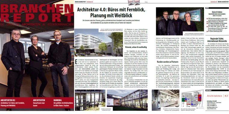 Branchenreport Architekten K2